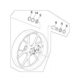 Front wheel 3.50X17