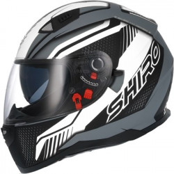 Shiro SH-881 Mattsvart/Vit