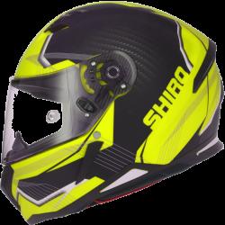 SHIRO SH-890 Matt Black/Yellow