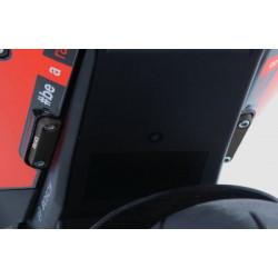 Täckbricka för bakre fotpinnar, Aprilia RSV4 och Tuono V4