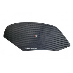 Side tankpads Aprilia black