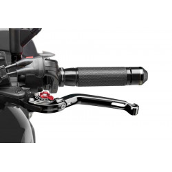 Puig foldable clutch lever 2.0 black selector red