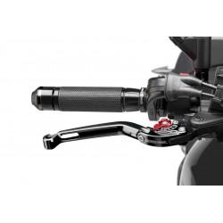 Puig foldable brake lever 2.0 black selector red