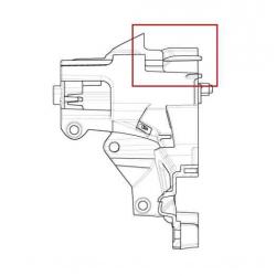 Left instrument panel support