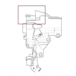 Right instrument panel support