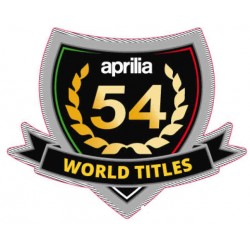 "Decal ""54 World Titles"""