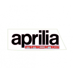 "Right tank decal ""aprilia racing"""