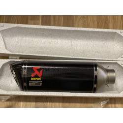 AKRAPOVIC SLIP-ON EXHAUST KIT WITH RACE TUBE INCLUDED FOR...