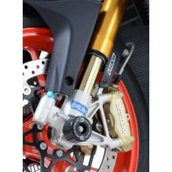 Aprilia Tuono 2003 R/&G Racing Fork Protectors FP0020BK Black