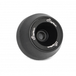 Wheel axle sliders black