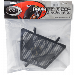 Oil Cooler Guard Black