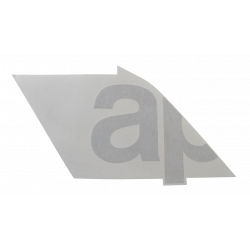 "Sticker left side fairing ""ap"""