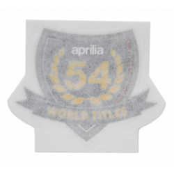 "Decal ""54 World Titles"""