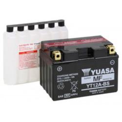 YUASA batteri YT12A-BS Inkl syra