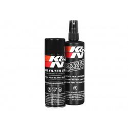Luftfilter tvättkit med olja på sprayburk