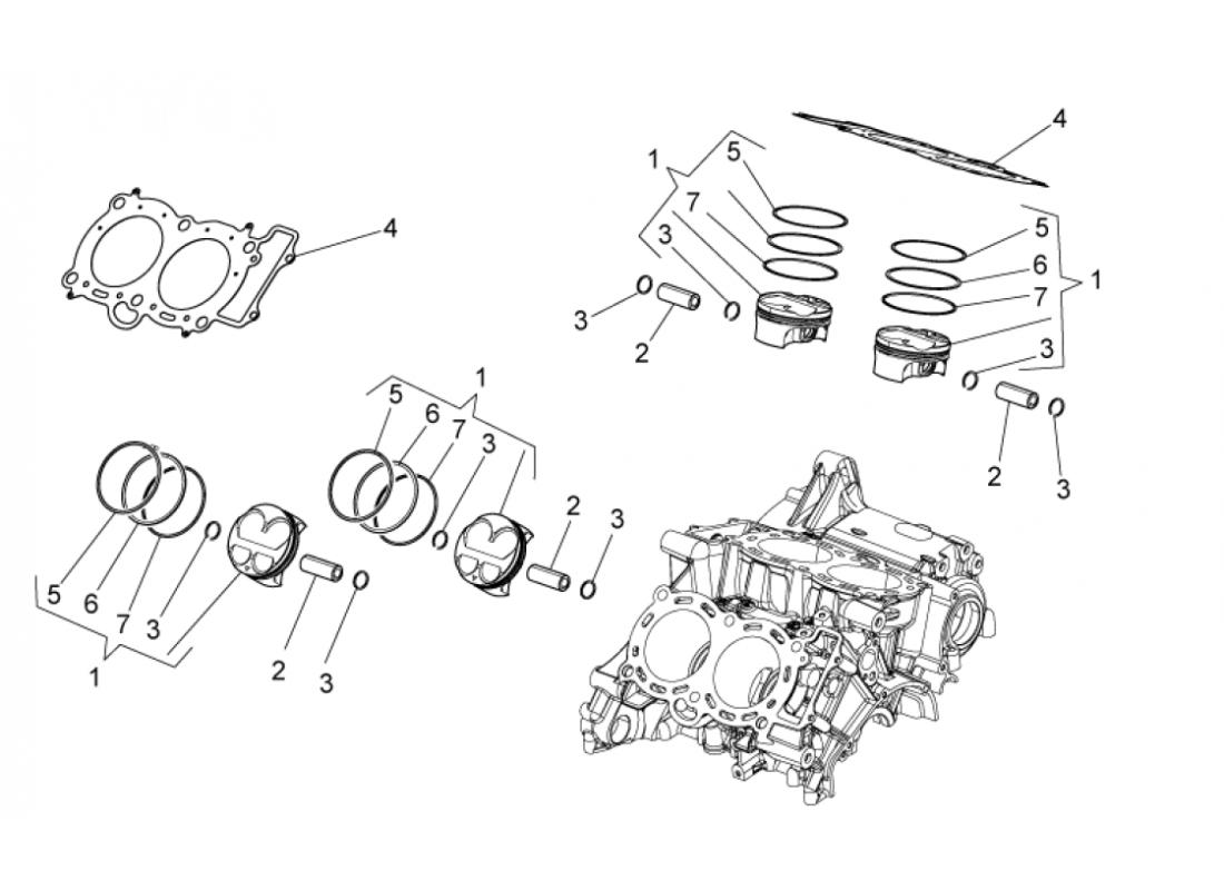 Cylinder - Piston